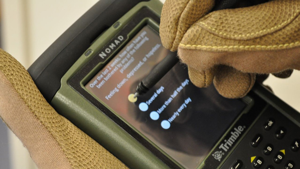 App helps diagnose TBI in soldiers; can identify depression, PTSD